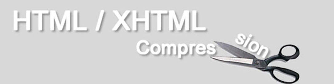 How to Compress HTML / XHTML size to make it load faster