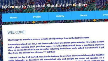 Naushad Shaikh's Art Gallery